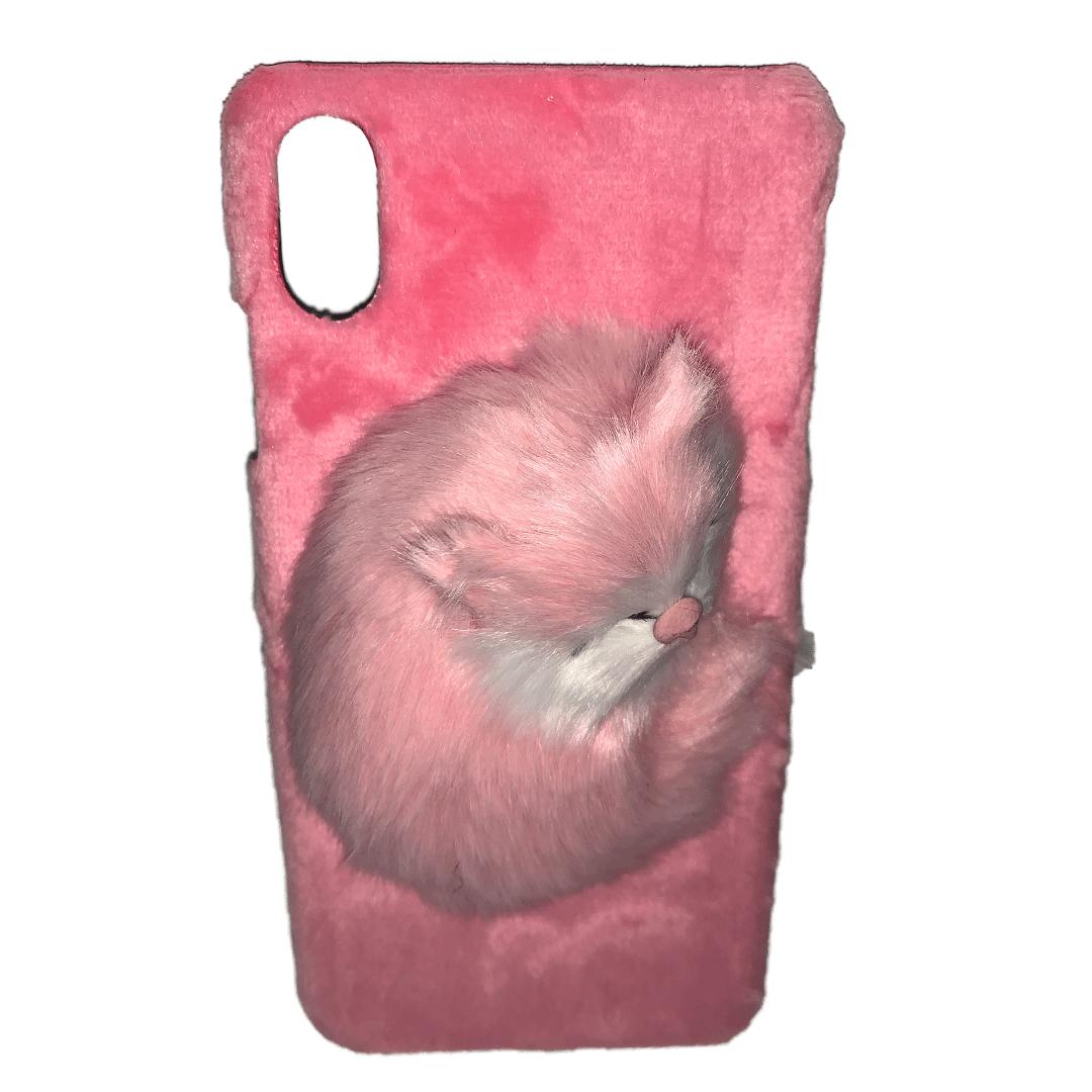 carcasa-gato-rosada-parada